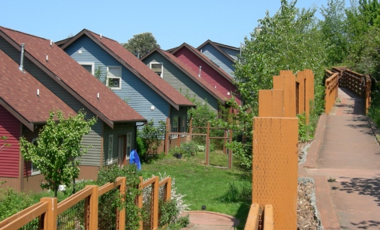 Collective housing in Duwamish (Washington). Photo: Wikimedia