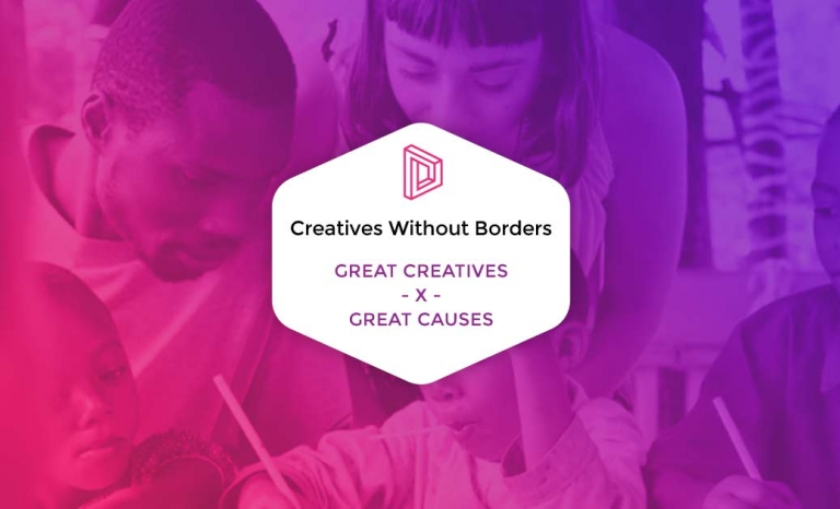 Creative Without Borders website. Photo: Creative Without Borders