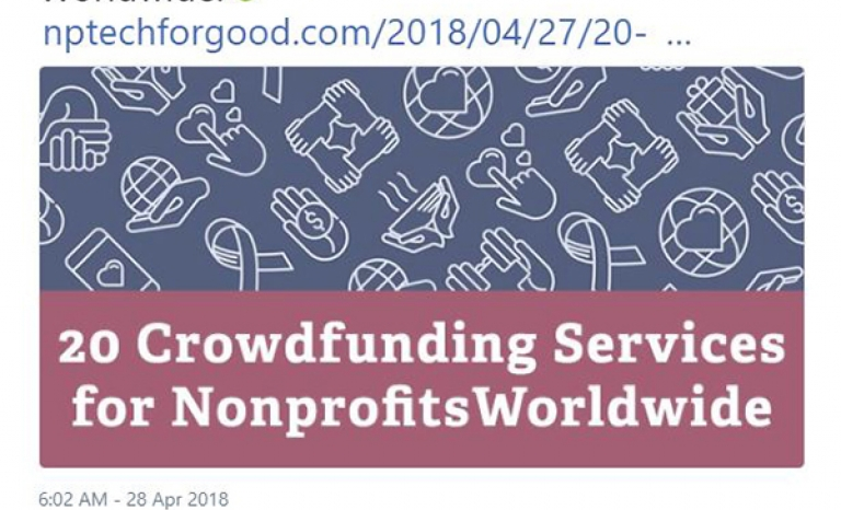 Nonprofit Tech for Good