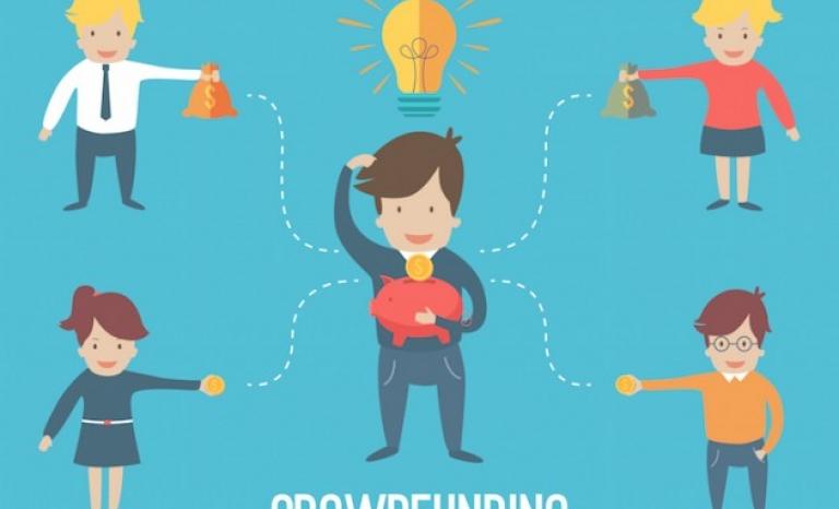Crowdfunding. Image: Wikimedia