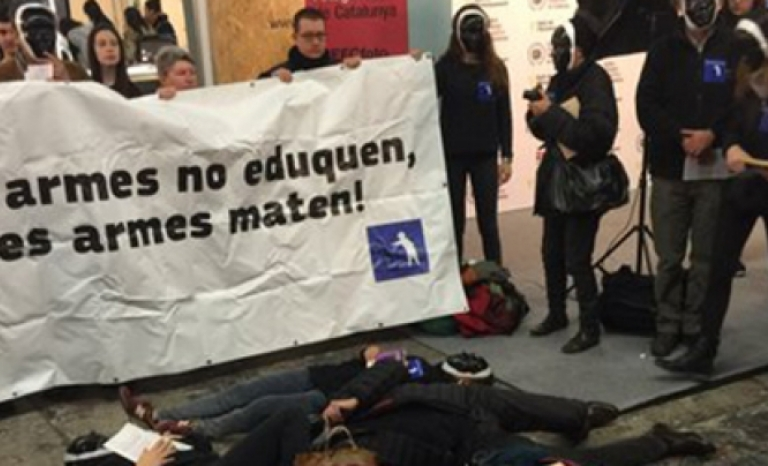 Image file from Demilitarize Education.