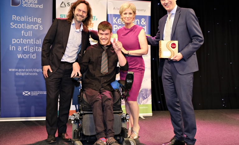 Drake Music Scotland, the nation's leading disability music organisation. Photo: SCVO