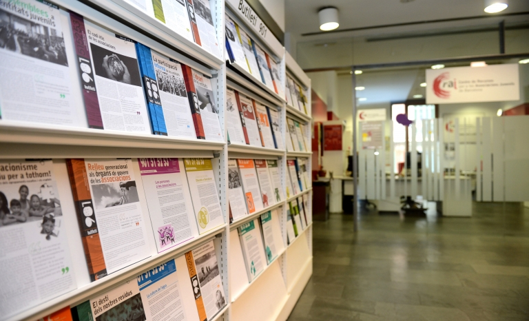 Documents at the Resource Centre for Youth Associations of Barcelona