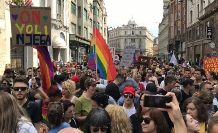 Sarajevo held the first ever LGBTI march in the history of Bosnia and Herzegovina.