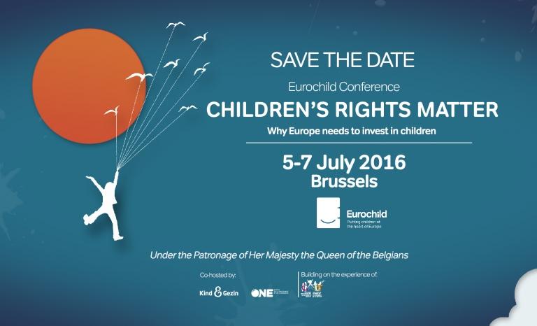 Eurochild Conference 2016 / Photograph: Eurochild