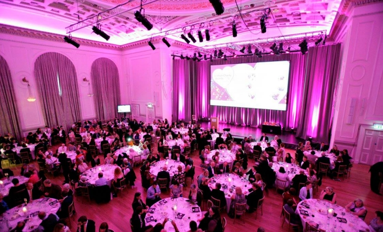 The awards ceremony where 500 guests gather. Photo: SCVO