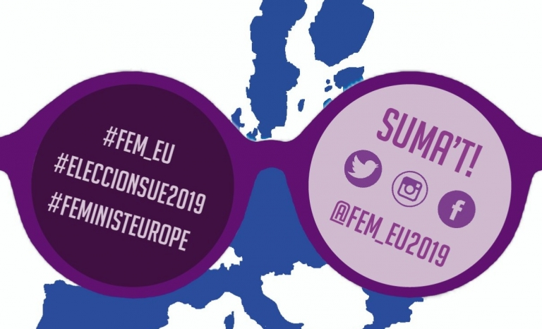 You can collaborate with the campaign and publish your photo on the social network.   Source: FEM_EU