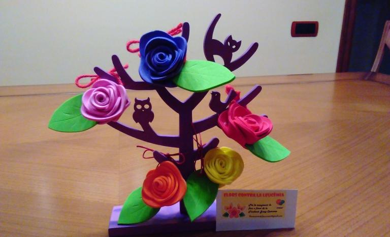 Flowers against leukaemia / Photo: Flors contra la leucèmia's Facebook