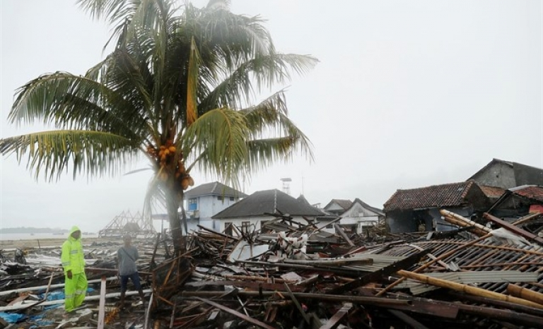 The tsunami has left thousands of people injured and displaced.