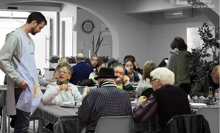 Soup kitchen of Can Padró and users