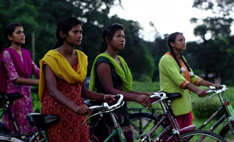 Frame of the Girl Rising film.