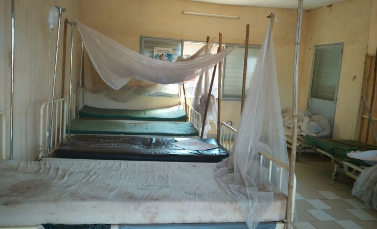 Room used for the healthcare project. Photo: YAA