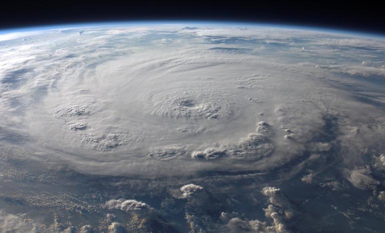 Hurricane shot. Photo: Wikimedia