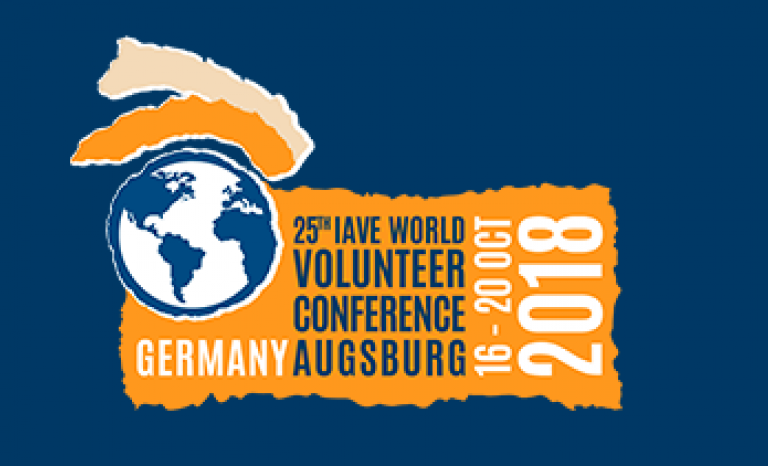 The IAVE World Volunteer Conference takes place from 16th to 20th october.   Source: IAVE