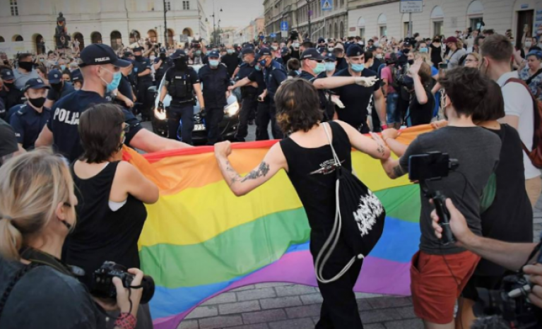 In Poland, government is violating the fundamental rights of LGBTI people.