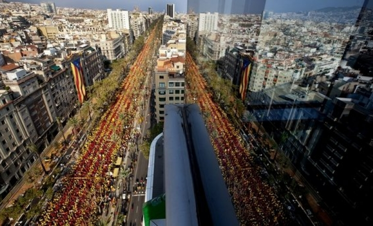 Image of catalan V / Photograph: lavanguardia.com