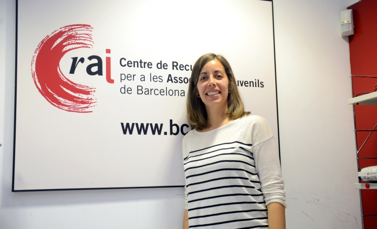 Marina Rahola, Funding and International Activities Advisor at the Resource Centre for Youth Associations of Barcelona