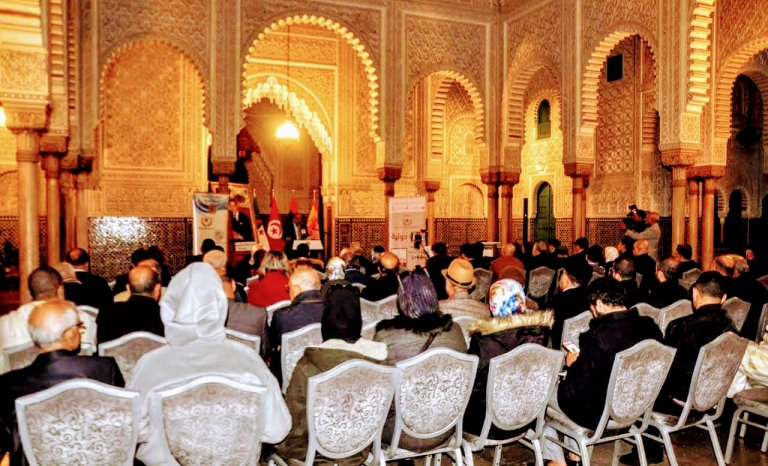 The last Volunteering Forum celebrated in Casablanca, Morocco.   Source: Fundació Catalunya Voluntària