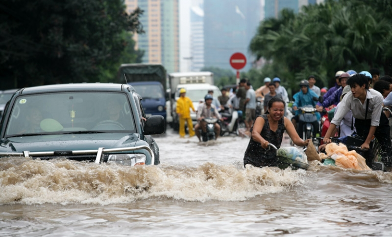 Flooding in Southeast Asia. Photo: Wikimedia
