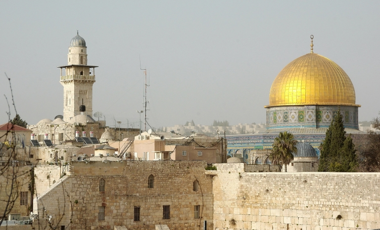The Al-Aqsa Mosque has become a key geographical point.