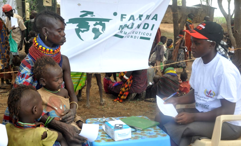 Farmamundi's health campaign in Kenya.