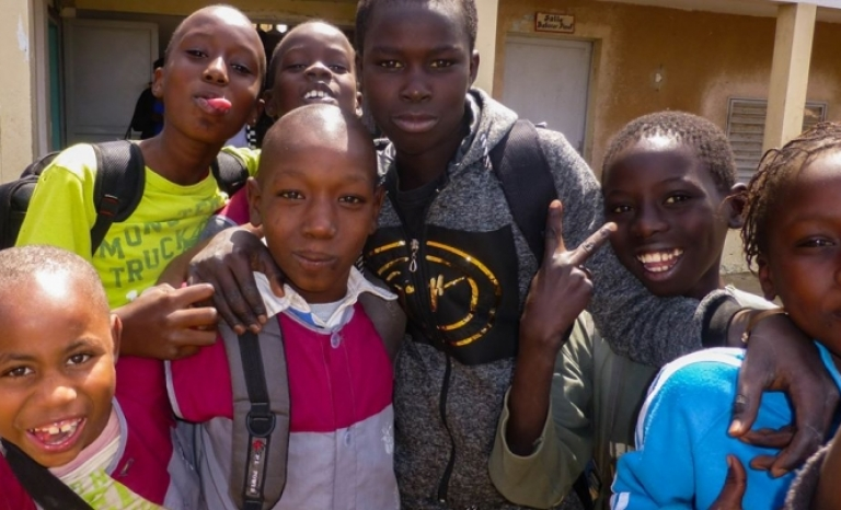 The Babel Foundation is working to educate children in Senegal.