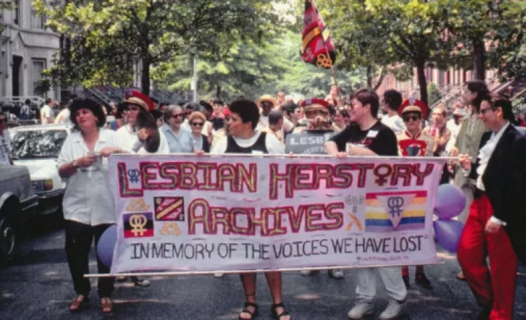 'The Archivettes' is a film that explores the history of the Lesbian Herstory Archives.