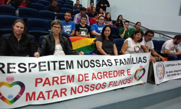 Some organizations are mobilizing In Brazil against the lgbt-phobia.