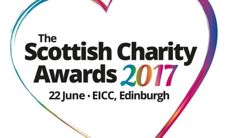 Logo of the Scottish Charity Awards 2017. Image: SCVO