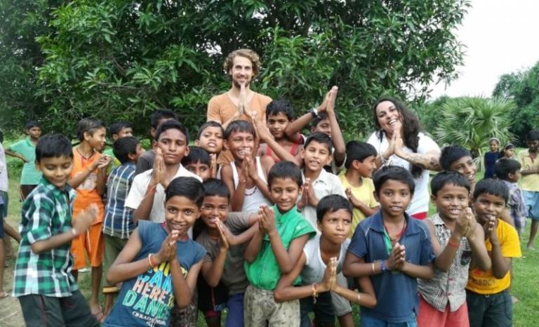 A volunteer project in Jaipur, India.   Source: NGO Voluntariado