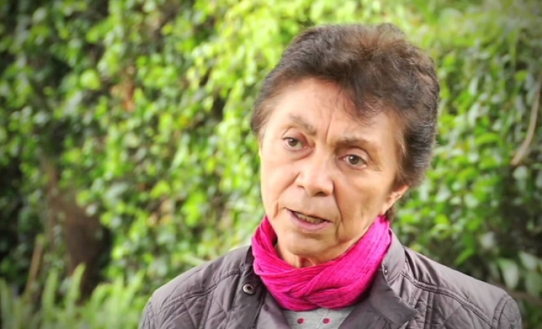 Glòria Careaga, a prominent personality within the LGBTI movement in Mexico.