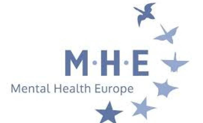 Logo de Mental Health Europe. Image: MHE