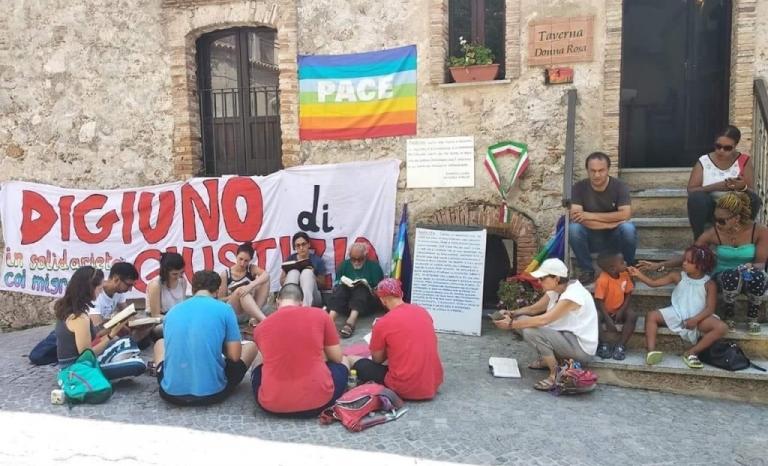 Riace's mayor Mimo Lucano goes on a hunger strike