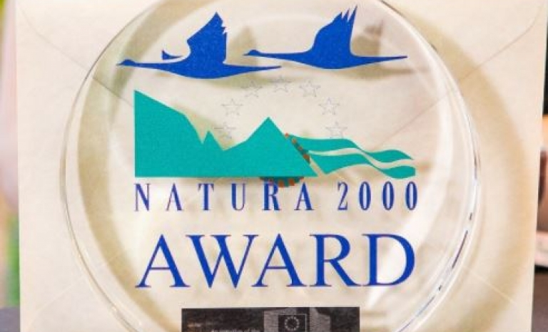Natura 2000 Award.      Source: Birdlife