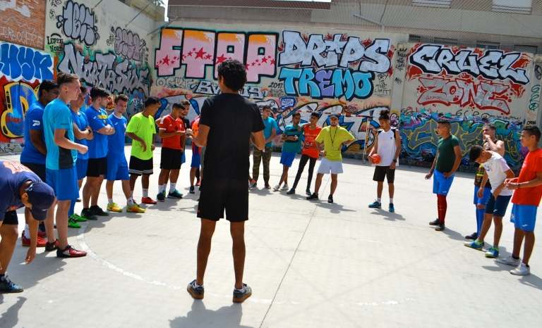 El Nour is currently creating the organisation Acció Jove per la Inclusió (AJI).