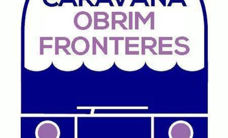 Logo of the 'Obrim Fronteres' Caravan