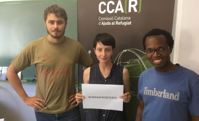 Under the commitments made by Spain in 2015 and that should be achieved in September 2017, only 7.5% of people who should be relocated and resettled have reached the state - Photo: CCAR