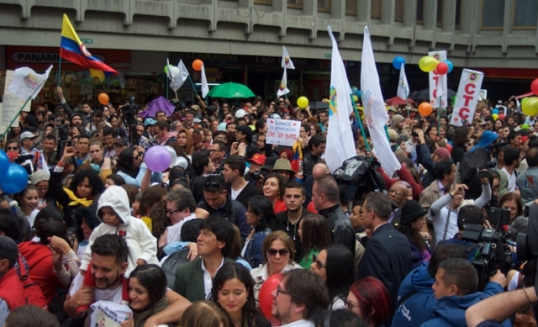 The armed conflict in the South-American country is resurging, but the organizations fighting for peace on the ground aren't giving up.