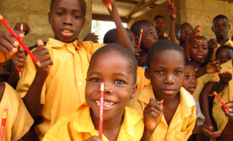 Up to 75% of children in more deprived regions of poor countries can't read a single word.   Source: Pencils of promise.
