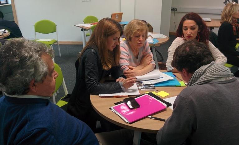 Capacity-building seminar in Shrewsbury, University of Chester / Photograph: NEET U