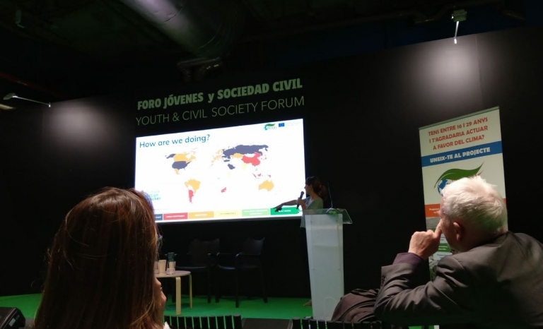 Ecoserveis and the Municipality of Granollers organized a workshop at the UNFCCC COP25.