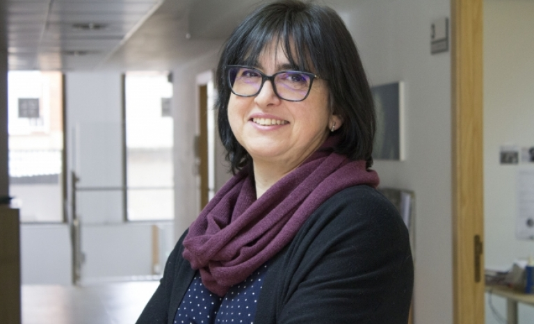 Pilar Polo, the person in charge of institutional relations in the Vicki Bernadet Foundation.