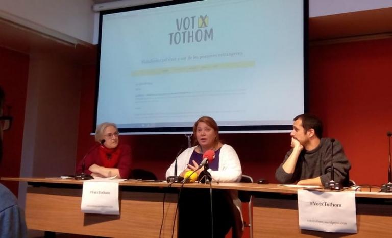 Presentation of the platform. Photo: CONFAVC