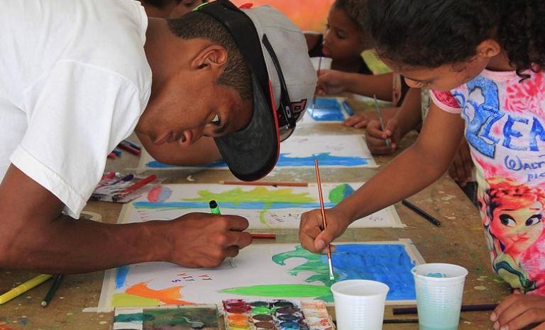 Artistlove has made artistic interventions in Brazil.