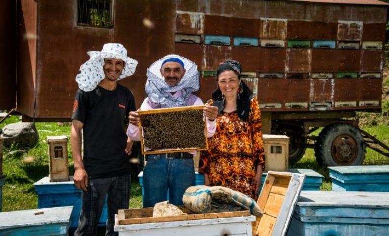Rahmat, biologist and beekeeper
