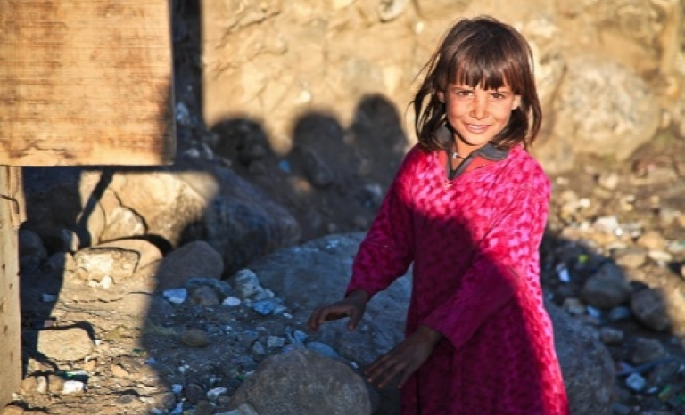 A refugee child is five times more likely to be out of school than a non-refugee child / Photograph: Pixabay
