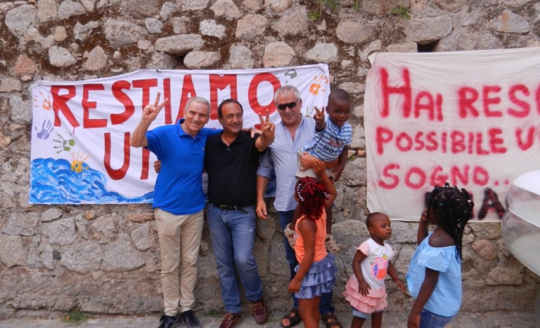 Riace, its mayor and its youngest citizens