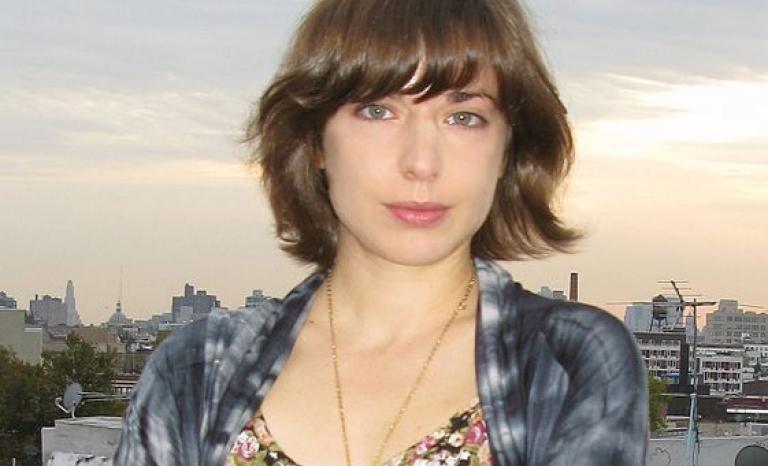 Sarah Glidden, author of the comic. Photo: Wikipedia