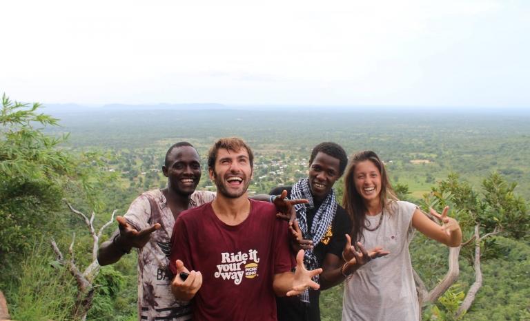 Volunteering is a key element for the YAA. Photo: YAA