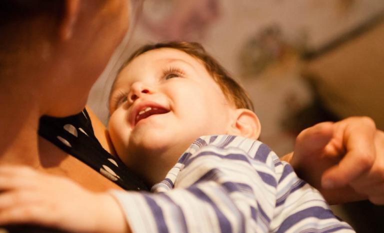Baby / Photograph: Eurochild